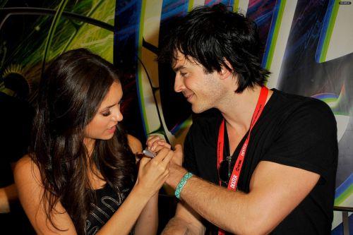 Ian Somerhalder and Nina Dobrev Back Together: Real Life Romance Round Two
