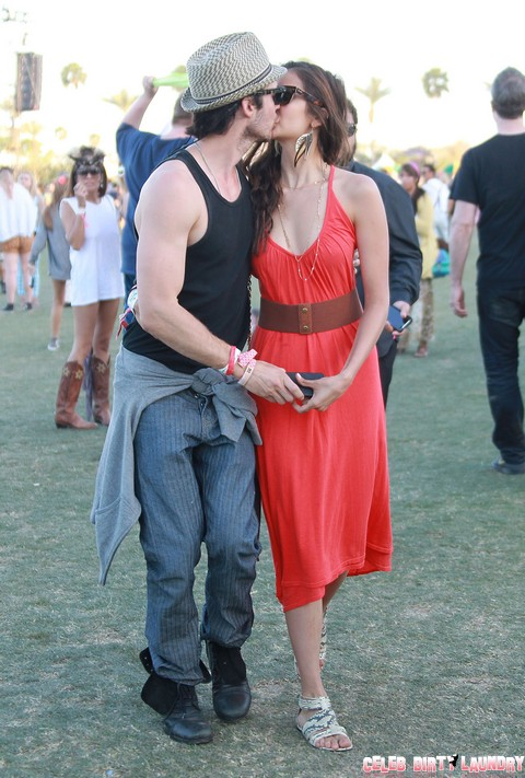 Ian Somerhalder and Nina Dobrev Back Together, Dating, and in Love After Ian Tweets Pure Romance To Nina