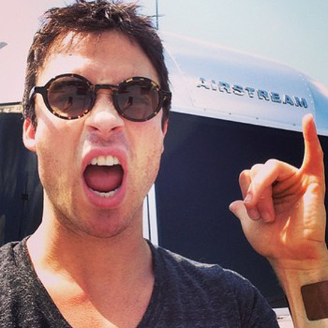 Ian Somerhalder Buys New Airstream Trailer: Planning Roadtrip With Nina Dobrev To Mend Relationship After Split? (PHOTO)