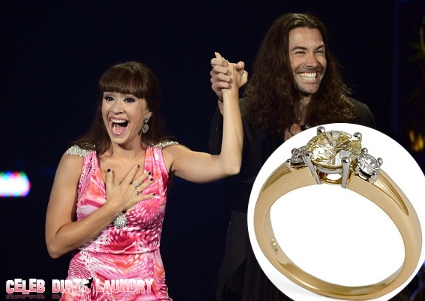 Diana DeGarmo's FANCY Engagement Ring From Fiance Ace Young Finally Revealed (Photo)