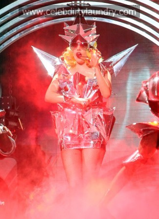 outfits will make people want to listen to her. NOTE TO GAGA: – WRONG,