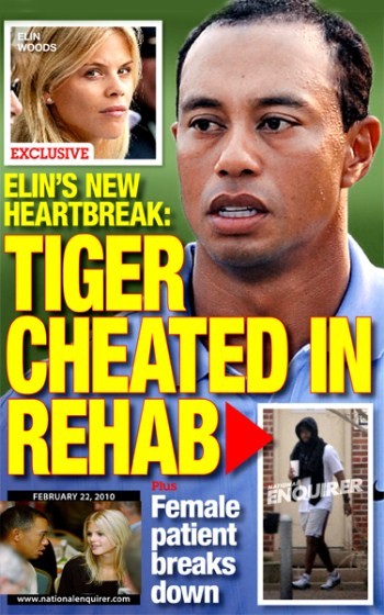 Author: Tiger Woods at Mississippi sex rehab clinic