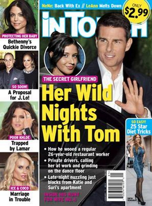 Tom Cruise's Secret Girlfriend Leaks Details About Their Wild Nig