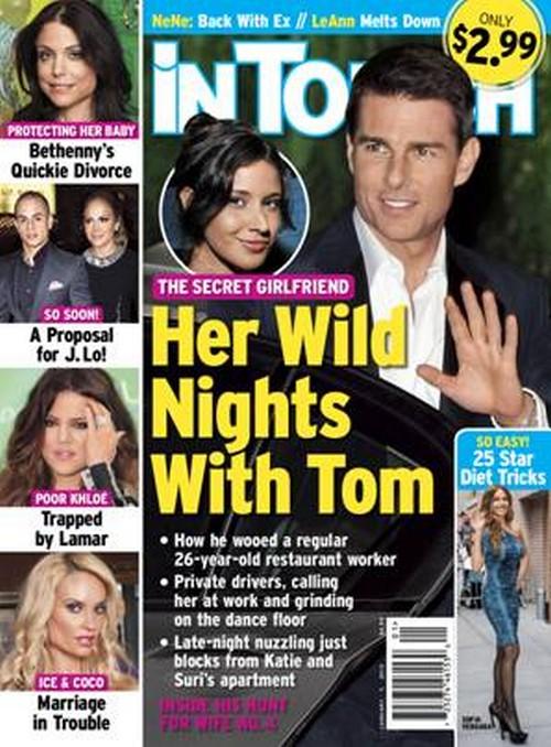 Tom Cruise's Secret Girlfriend Leaks Details About Their Wild Nig