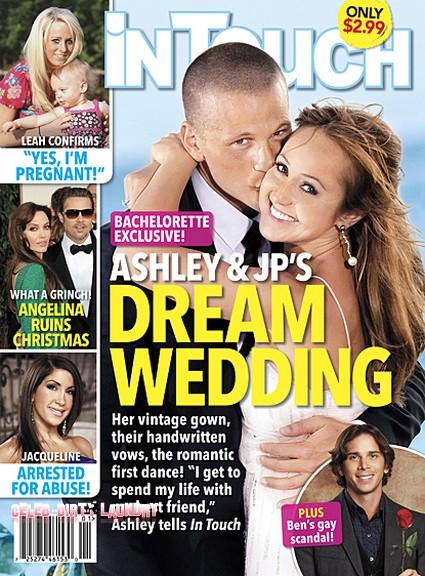 Details of The Bachelorette's Ashley Hebert & J.P. Rosenbaum's Wedding (Photo)