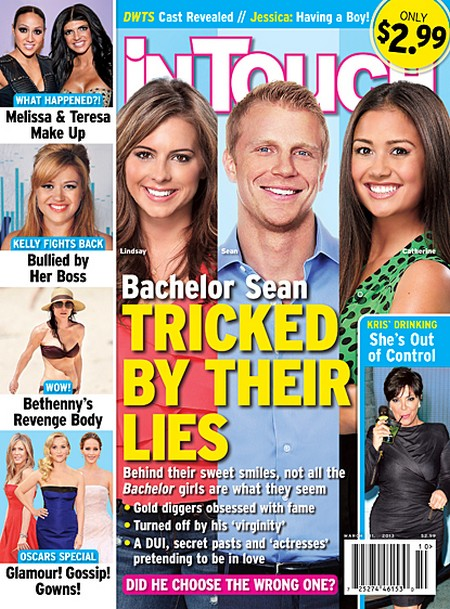 Sean Lowe Proposes To The Wrong Girl: Catherine Giudici and Lindsay Yenter's Lies (PHOTO)