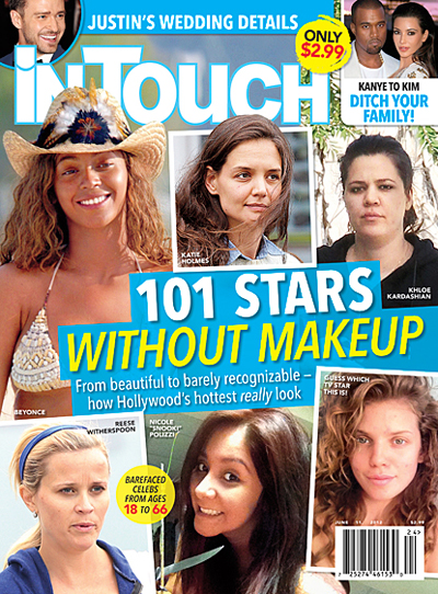 Stars Without Makeup: See Katie Holmes, Beyonce, Reese Witherspoon And More (Photo)