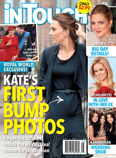 Duchess Kate Middleton Is Pregnant: See The First Photo Of Her Baby Bump (Photo)