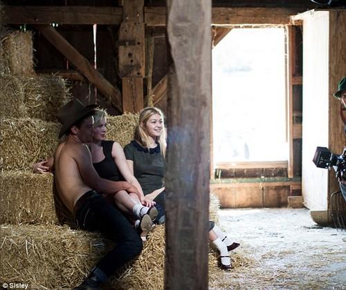 Ireland Baldwin Goes Topless In New Fashion Shoot - Alec Baldwin Furious (PHOTOS)
