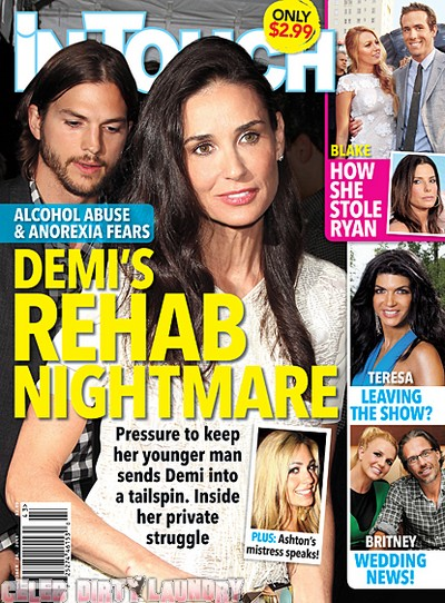 In Touch Weekly: Demi's Rehab Nightmare - Photo