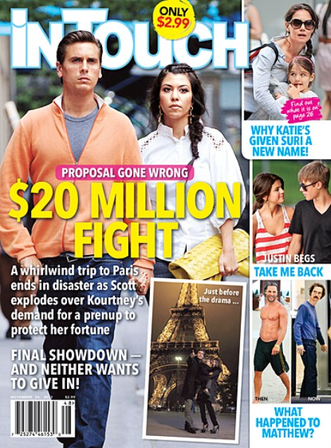 Scott Disick's Marriage Proposal To Kourtney Kardashian $20 Million Seperation War