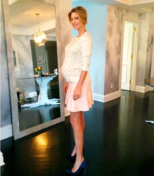 See Ivanka Trump Pregnant: Looks Amazing One Week Before Due Date! (PHOTO)