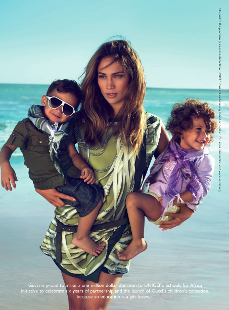 Jennifer Lopez Pimps Out Her Kids For Gucci [Photos]