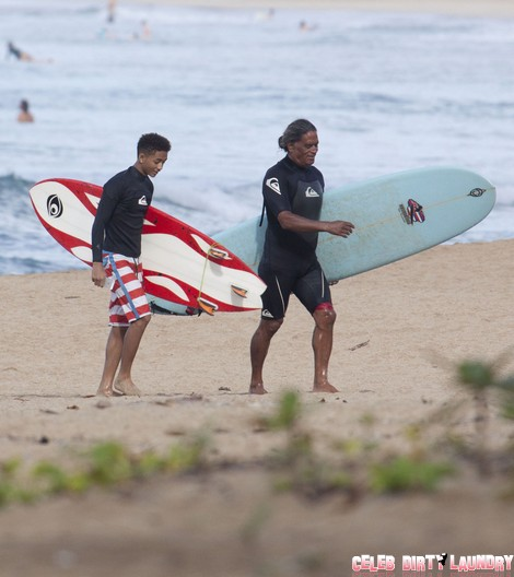 Will Smith Says Jaden Smith Can't Go Surfing With Kendall Jenner
