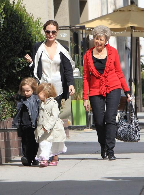 Brad Pitt's Mother Jane Etta Horrified By Angelina Jolie's Divorce Accusations