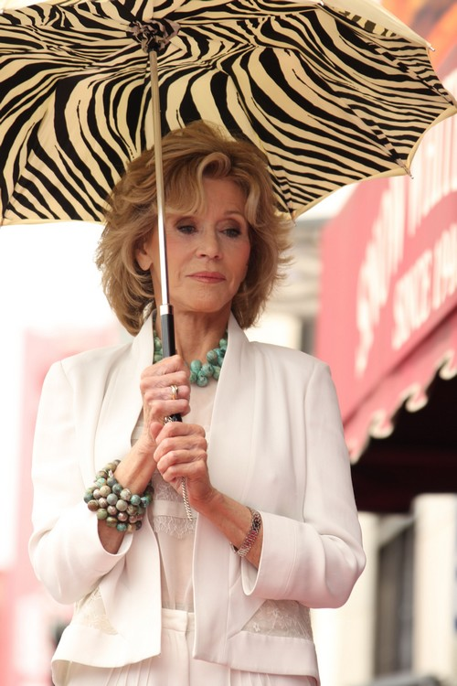Jane Fonda Cheating With Russell Crowe - New Hollywood Couple?