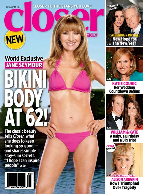 Jane Seymour Shows Off Her Bikini Body At 62 (PHOTO)