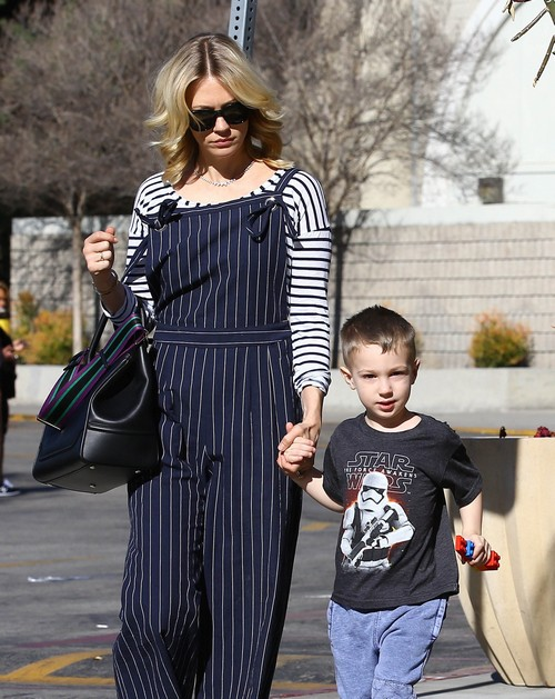 January Jones Out With Xander: Biological Father Reveal ... January Jones Son Images