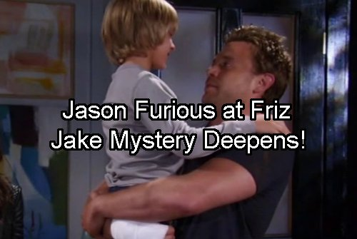 General Hospital Spoilers: Jake Lashes Out - Franco Art Sessions Show Cassadine Island Prison Cell - Jason Furious