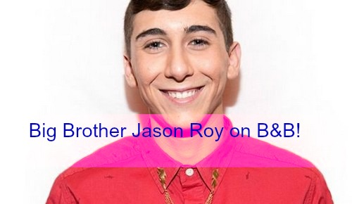 The Bold and the Beautiful Spoilers: Big Brother 17 Jason Roy Makes B&B Cameo October 12