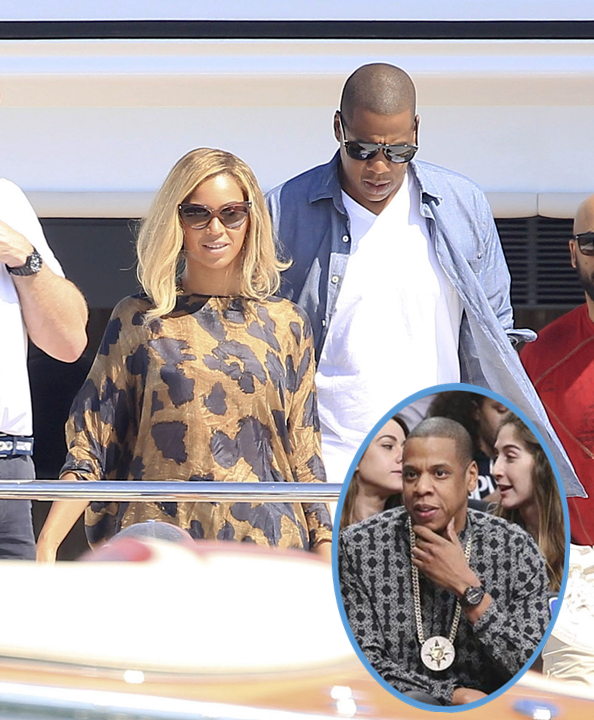 """Jay-Z Wears Racist """"Whites Are The Devil"""" Bling Radical """"Five Percent Nation"""" Group Jewelry"""