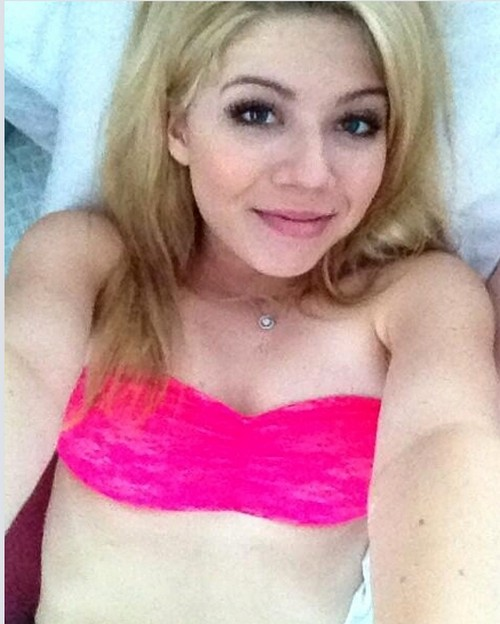 Jennette McCurdy Nearly Naked Lingerie Pics Allegedly Leaked by Andre Drummond?