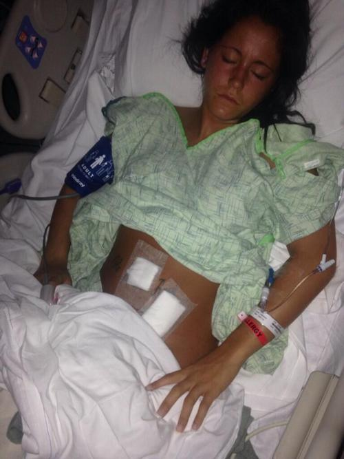 Jenelle Evans Rushed To The Hospital For Emergency Surgery - Appendix Removed