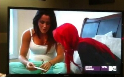 """Teen Mom War: Farrah Abraham Calls Jenelle Evans and Nathan Griffith """"White Trash"""""""