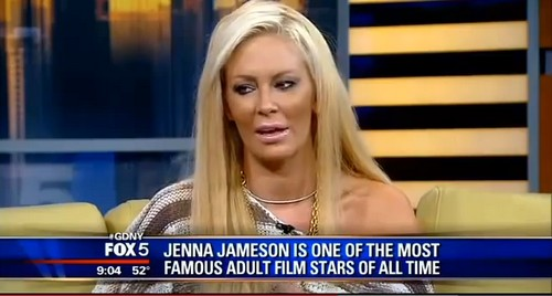 Jenna Jameson Still Works In The Adult Entertainment Industry But Lies About It (VIDEO)