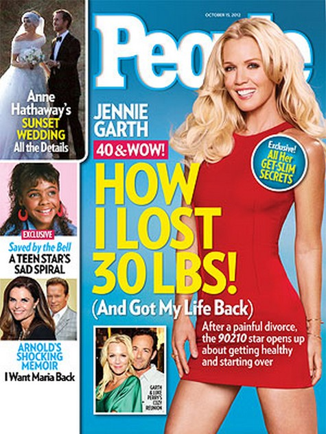 40 & WOW: How Jennie Garth Lost 30 Lbs And Got Her Life Back (Photo)