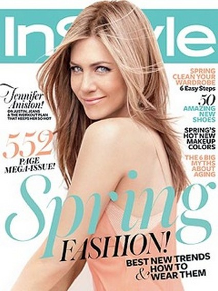 Jennifer Aniston Discusses Denial About Her Age In March Issue of InStyle