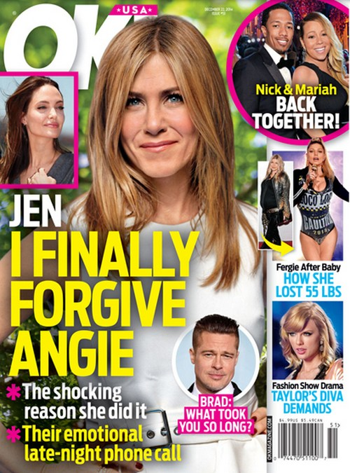 Jennifer Aniston Forgives Angelina Jolie For Stealing Brad Pitt: After Angie's Most Humiliating Week!