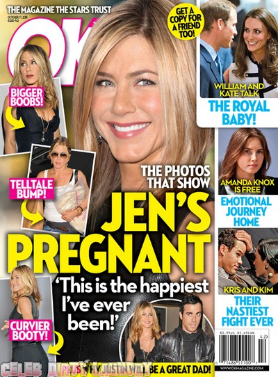 OK! Magazine: Jennifer Aniston Is Pregnant! - Photo