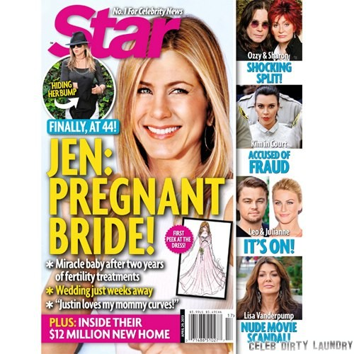 Jennifer Aniston Pregnant At Last! In Vitro Fertilization Baby On The Way (Photo)
