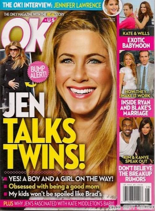 Jennifer Aniston Talks Twins!