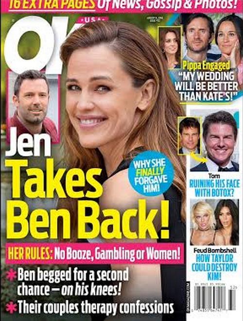 Ben Affleck and Jennifer Garner Divorce Called Off: Jen Pities Cheating Husband, Thinks Christine Ouzounian Trapped Him