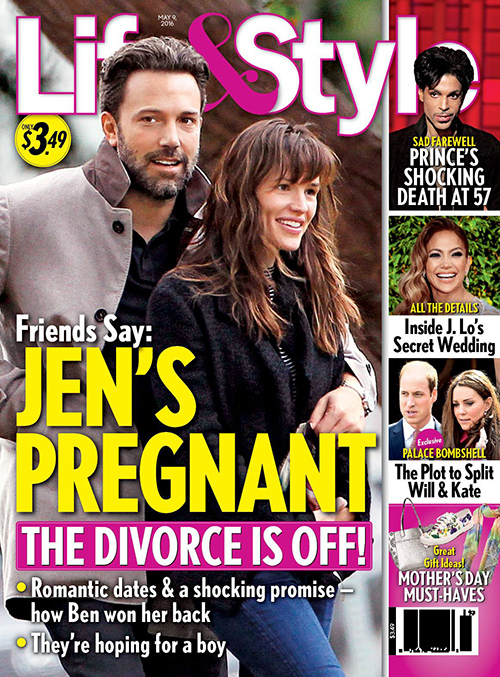 Jennifer Garner Pregnant: Ben Affleck Divorce Cancelled?