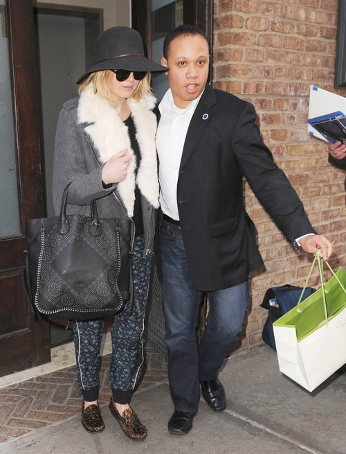 Jennifer Lawrence Makes Chris Martin Jealous With Hot New Bodyguard Justin Riblet - JLaw Hooking Up With Security?