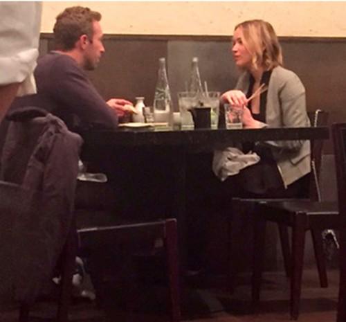 Chris Martin Taking Jennifer Lawrence To The Grammy Awards - Gwyneth Paltrow Seething?