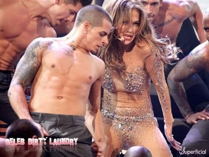 Jennifer Lopez Mistaken For Casper Smart's Mother