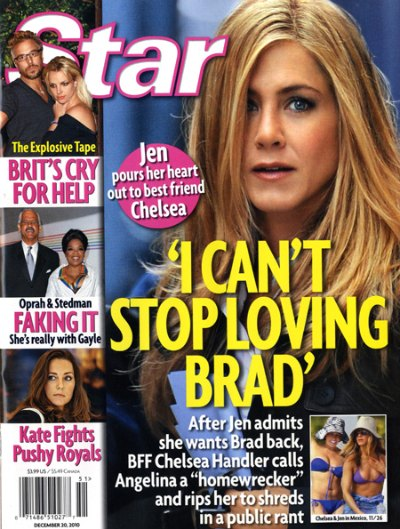 Jennifer Aniston Still Wants Brad Pitt Back