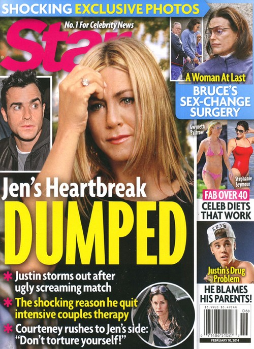 Jennifer Aniston and Justin Theroux Break Up After Ugly Fight (PHOTO)
