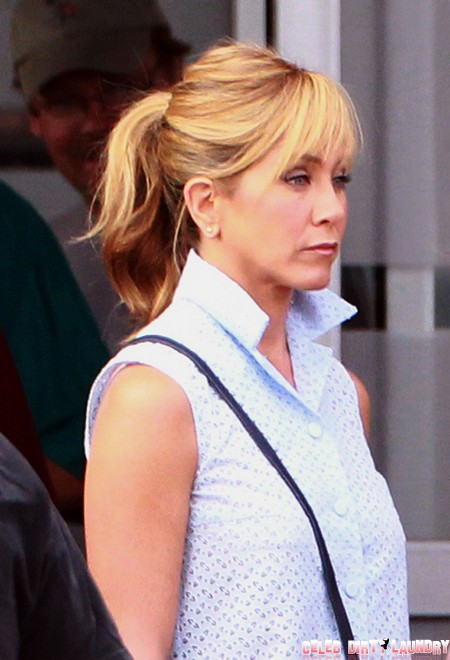 To Jennifer Aniston's Face – Justin Theroux Has A Plan!