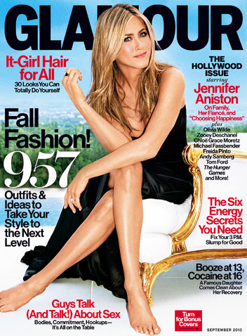 Jennifer Aniston Covers Glamour Magazine's Hollywood Issue: Is She Hot or Not? (PHOTO)