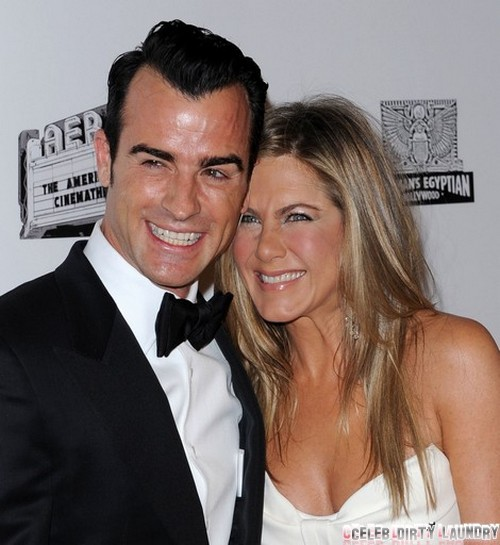 Are Jennifer Aniston and Justin Theroux Married - Wedding and Marriage Masquerade as Birthday Party??