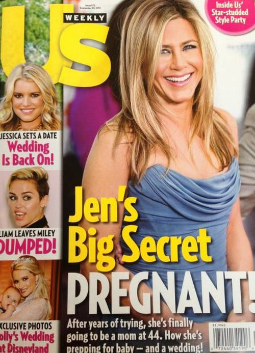 Jennifer Aniston Pregnant At Last - Baby Bump Is Real (PHOTOS)