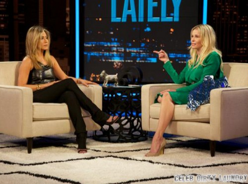 """Jennifer Aniston Tells Chelsea Handler To """"Shut Up"""" After Double Mastectomy About Angelina Jolie and Brad Pitt Cheating"""