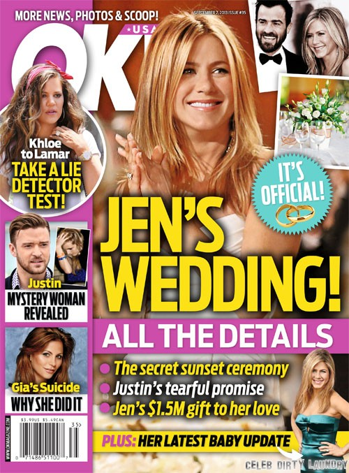 Jennifer Aniston's Wedding Details Released: Justin Theroux WILL Be There Too (PHOTO)