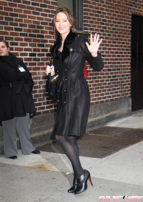 Celebrities At The 'Late Show With David Letterman'