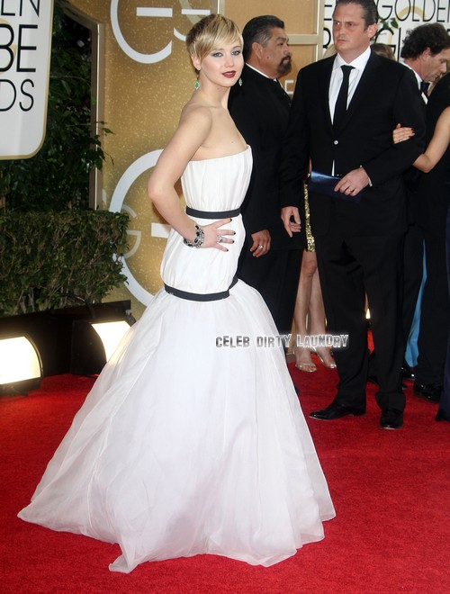 Drew Barrymore and Will Kopelman at the The 71st Annual Golden Globe Awards in LA